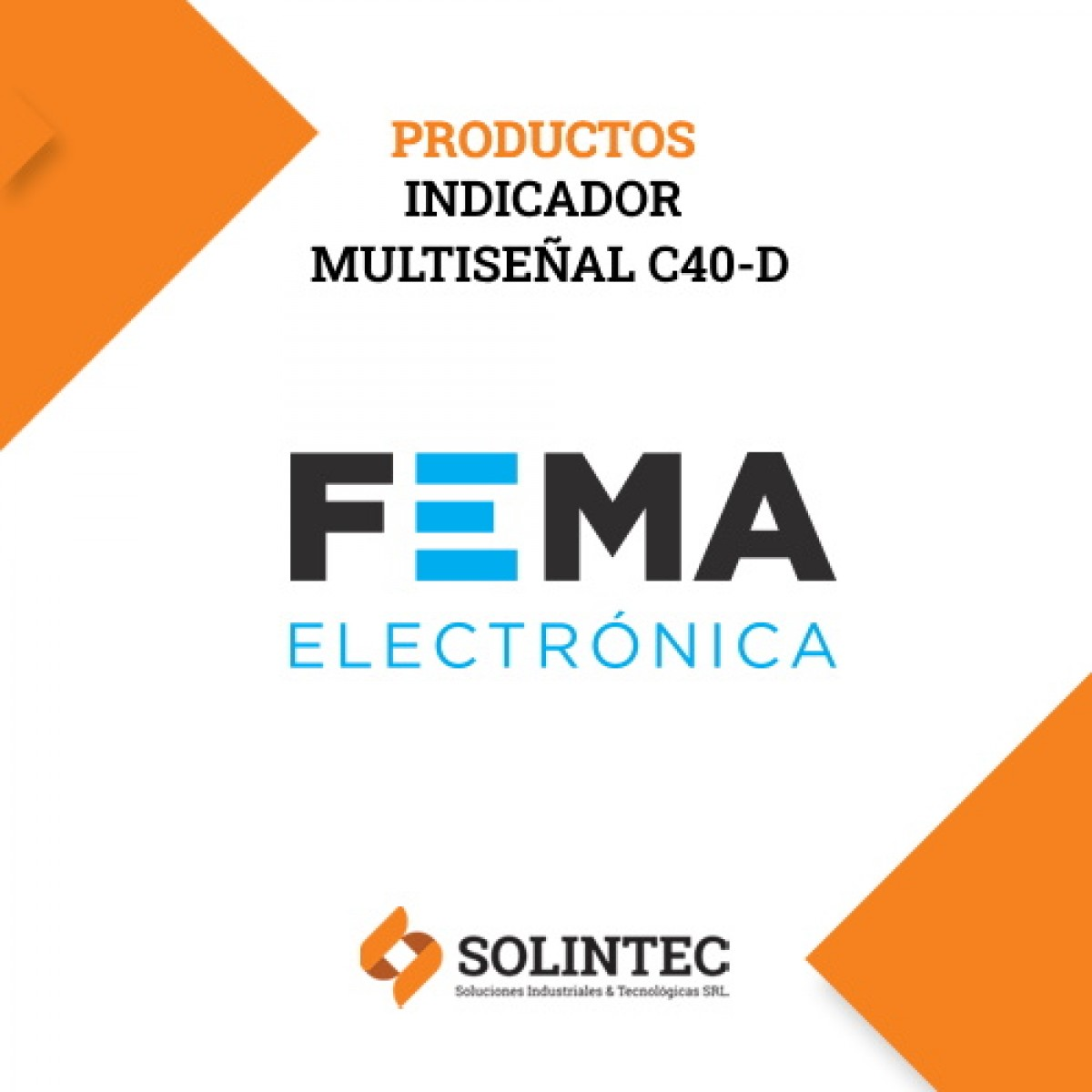 FEMA  | Indicador digital de panel multiseñal C40-D